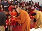 德州佛教會菩提學苑新年團拜及園遊會