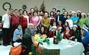 德州佛教會慈善組歲末探訪療養院